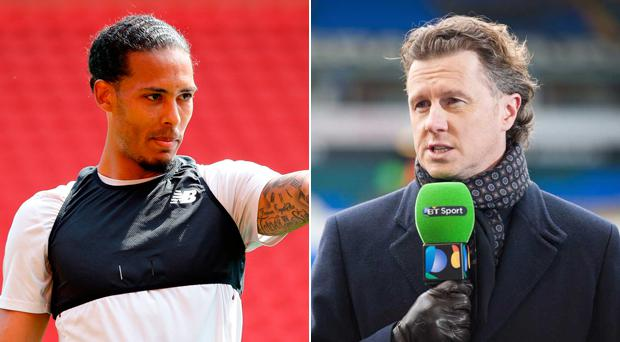 Steve McManaman (right) has been impressed with Virgil van Dijk's impact at Liverpool
