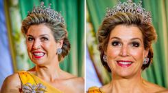 The Netherlands' Queen Maxima in Luxembourg