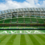 12 May 2018; A general view of the Aviva Stadium at half time during the FAI New Balance Junior Cup Final match between Pike Rovers and North End United at the Aviva Stadium in Dublin. Photo by Eóin Noonan/Sportsfile
