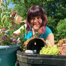 Rachel Wood with one of her Fairy Gardens ahead of the Bloom festival at the Phoenix Park, Dublin, next week