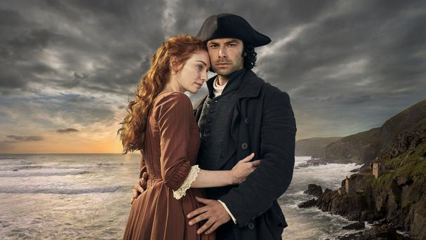 Poldark will be back on our screens next month as the show returns for a fourth series (Robert Viglasky/BBC/PA)