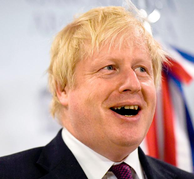 British foreign secretary Boris Johnson was victim of prank. Photo: AFP