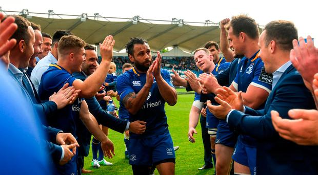 Isa Nacewa - the Leinster legend who arrived with just two bags and leaves with four kids and four European crowns