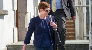 Moira Coughlan, a former employee of Fermoy Credit Union, Cork pictured at Fermoy District Court. Pic Daragh Mc Sweeney/Cork Courts Limited