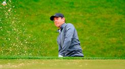 Northern Ireland's Rory McIlroy during day two of the 2018 BMW PGA Championship at Wentworth Golf Club, Surrey. PRESS ASSOCIATION Photo. Picture date: Friday May 25, 2018. Adam Davy/PA Wire.