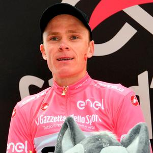 Froome now leads by 40 seconds from defending champion Tom Dumoulin. Photo: Daniel dal Zennaro/ANSA via AP