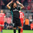 Marcelo is flippantly hailed as a defender who cannot defend but a brilliant attacker. Image: AP Photo/Kerstin Joensson