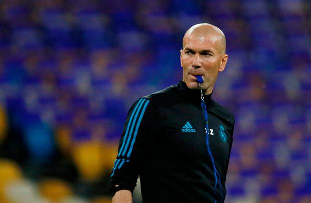 If there has never been a coach who has achieved what Zidane is on the brink of doing with Real Madrid, then it would also be right to say that no coach in history will derive so little credit from such monumental success. Photo: Reuters