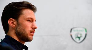 HUNGRY: Harry Arter is keen to play for Ireland after seeing little action for Bournemouth. Photo by Stephen McCarthy/Sportsfile
