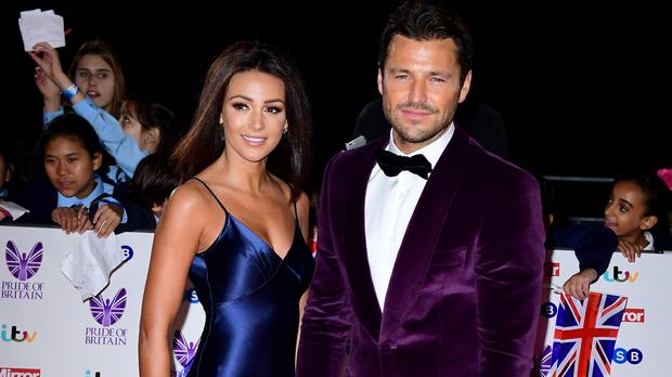 Michelle Keegan has spoken about her long-distance marriage (Ian West/PA)