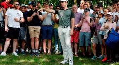 Rory McIlroy during the third round