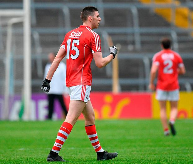 Cork's Luke Connolly scored 0-10 in last night's win over Tipperary. Photo: Eoin Noonan/Sportsfile