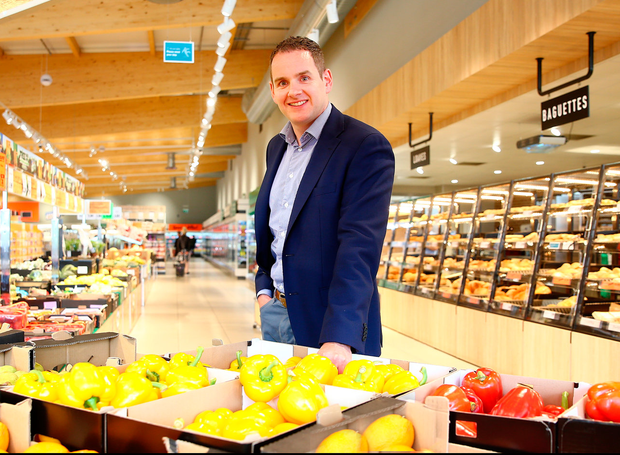 Lidl managing director JP Scally says the supermarket chain will increase its focus on healthy convenience food. Photo: David Conachy