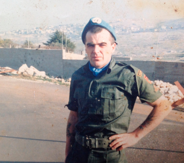 LOVED ONES LOST TO PEACE: Private William O'Brien (above) was killed in 1986. A commemoration today will honour Irish soldiers who died while on United Nations duty