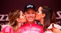 'Froome said he was thankful to have emerged the winner' Photo: AFP/Getty