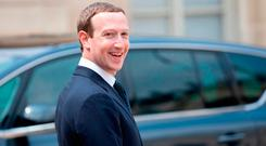 Mark Zuckerberg, chief executive officer and founder of Facebook Inc. Photo: Bloomberg