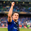 Jonny Sexton of Leinster celebrates. Photo: David Fitzgerald/Sportsfile