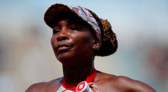 Bowed Out: Williams. Photo: Reuters/Christian Hartmann
