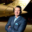 David Coleal, president of Bombardier Business Aircraft. Photo: Bombardier Business Aircraft/Handout via REUTERS