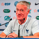 Deschamps clarified that Ireland's direct style offered similarities to Australia, their first opponents in Russia. Photo by Stephen McCarthy/Sportsfile