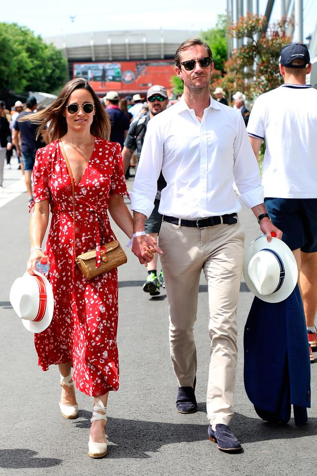 Pippa Middleton confirms she's pregnant with her first ... - photo#15