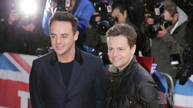 Anthony McPartlin (left) and Declan Donnelly (PA)