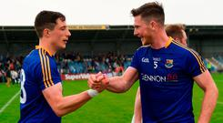 By refusing to bow to the conventions associated with smaller counties, Longford have managed to rise to a level few could have anticipated. Photo: Harry Murphy/Sportsfile
