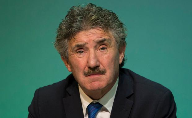 John Halligan: working on a new version of bill. Photo: Fergal Phillips