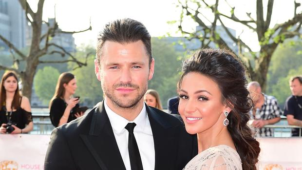 Mark Wright and Michelle Keegan (Ian West/PA)
