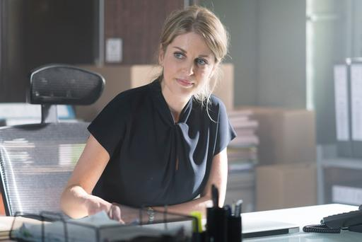 Amy Huberman in RTE's Striking Out