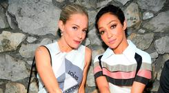 Sienna Miller and Ruth Negga attend Louis Vuitton 2019 Cruise Collection at Fondation Maeght on May 28, 2018 in Saint-Paul-De-Vence, France. (Photo by Pascal Le Segretain/Getty Images for Louis Vuitton)