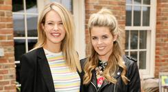 Aoibhin and Ailbhe Garrihy at the Marks & Spencer Taste of Summer event held in The WHPR Courtyard. Picture: Kieran Harnett