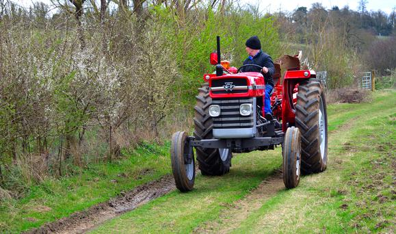 Kevin Power, solicitor for Mr Croker, said his client had two Massey Ferguson tractors in his yard to be restored. Stock image.