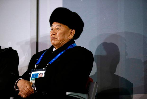 Kim Yong Chol, vice chairman of North Korea's ruling Workers' Party Central Committee Photo: AFP/Getty Images