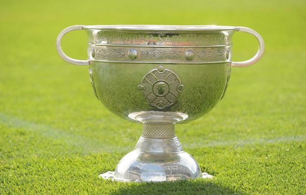 The destination of this year's Sam Maguire is still to be decided. Photo: SPORTSFILE