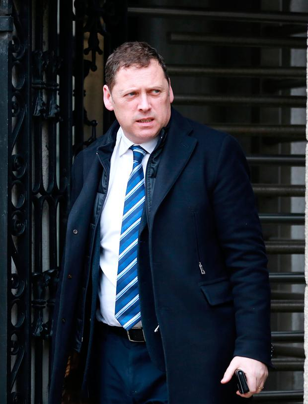 Barry Cowen has called for unity within Fianna Fáil. Picture: Frank McGrath