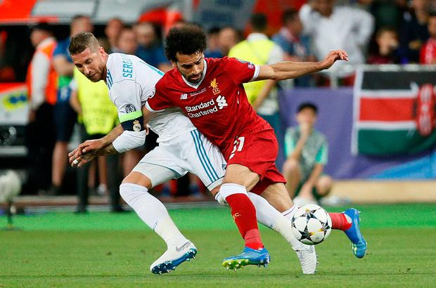 Liverpool's Salah hits back at Madrid's Ramos, reveals message after UCL final