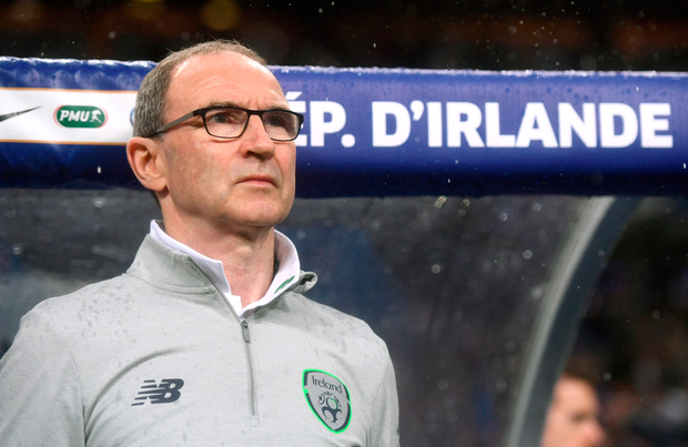 28 May 2018; Republic of Ireland manager Martin O'Neill prior to the International Friendly match between France and Republic of Ireland at Stade de France in Paris, France. Photo by Stephen McCarthy/Sportsfile