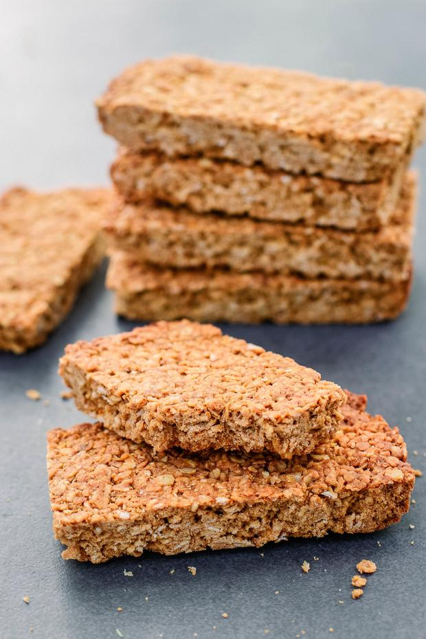 Indy Power's Honey Flapjacks
