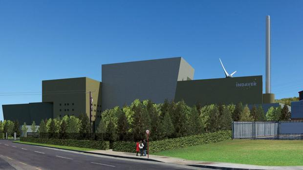 An artist's impression of the project