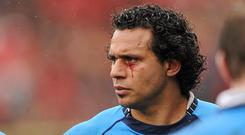 Isa Nacewa after the 2010 Heineken Cup semi-final defeat to Toulouse