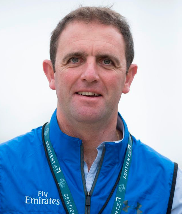 Trainer Charlie Appleby has high hopes for Wild Illusion in today's Epsom Oaks. Photo: Edward Whitaker