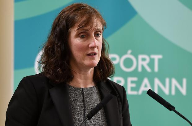 Dr Una May, Sport Ireland Director of Participation and Ethics. Photo: Seb Daly/Sportsfile