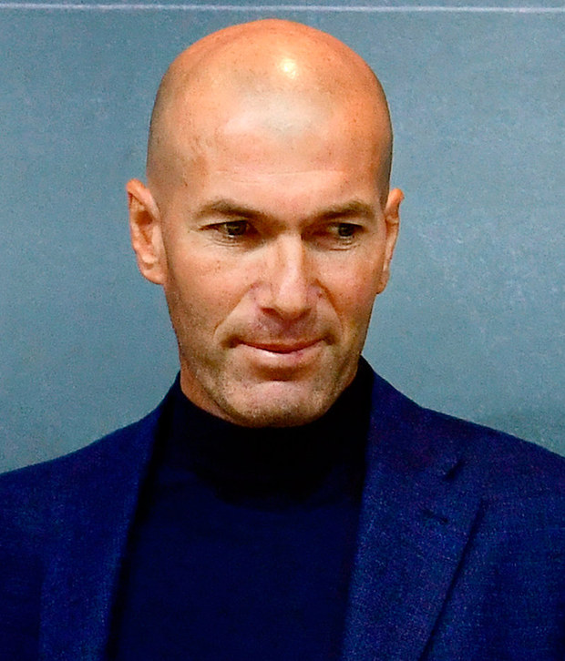 Zinedine Zidane said the Real Madrid team needed a new voice within the dressing room Photo: PIERRE-PHILIPPE MARCOU/AFP/Getty Images
