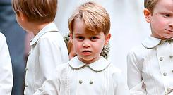 Rashid posted images of Prince George (4) with jihad fighters. Photo: Justin Tallis/PA Wire