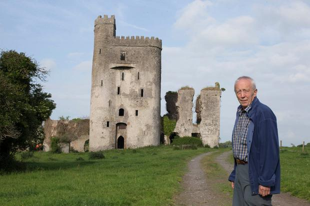 Owner David Butler at Ballyadams Castle in Co Laois. Photo: Alf Harvey
