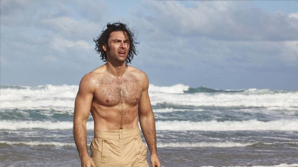 The bare chest is back! Aidan Turner goes shirtless again in new Poldark (BBC/Mammoth Screen)