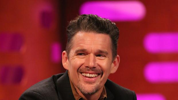 Ethan Hawke appeared on the Graham Norton Show (Isabel Infantes/PA)