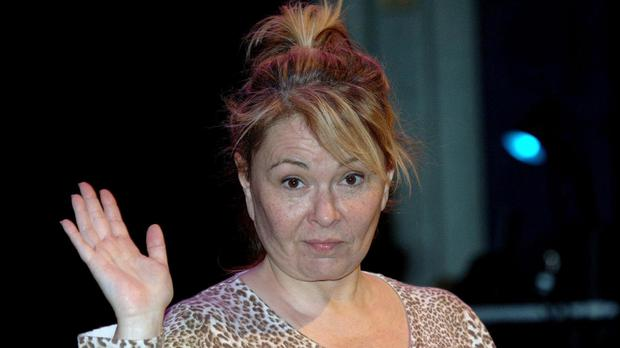 US actress and comedian Roseanne Barr at a photcall preceding her first ever stand-up performance in the UK, during the Leicester Comedy Festival (Steve Parsons/PA