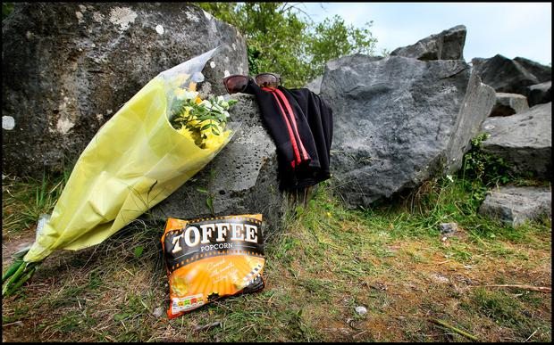 The scene of the tragedy. Photo: Steve Humphreys
